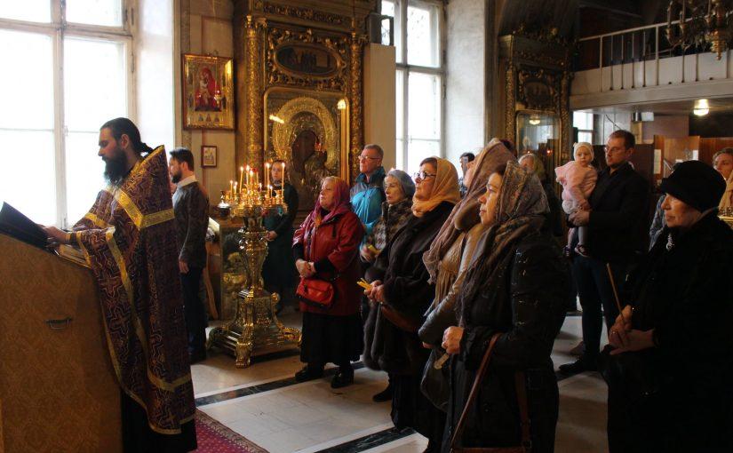 В Богоявленском соборе г. Москвы состоялся молебен в поддержку храма св. Аллы
