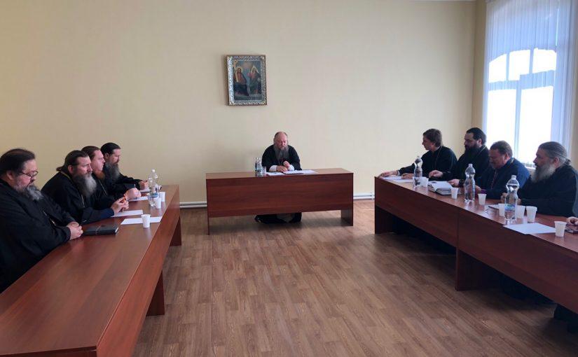 Собрание благочинных Сердобской епархии