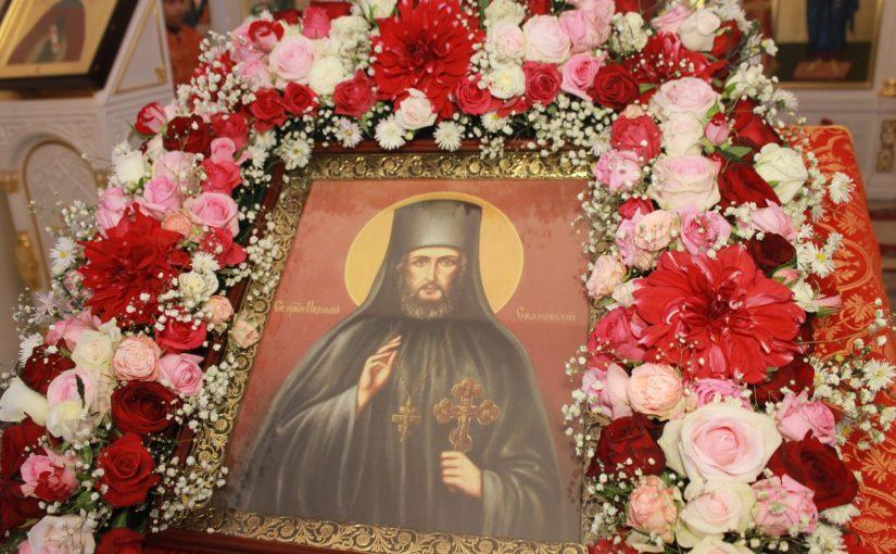 Епископ Митрофан совершил Всенощное бдение в Троице-Скановом женском монастыре