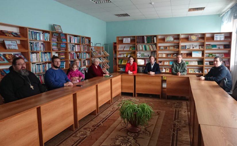 Круглый стол в Наровчатском благочинии