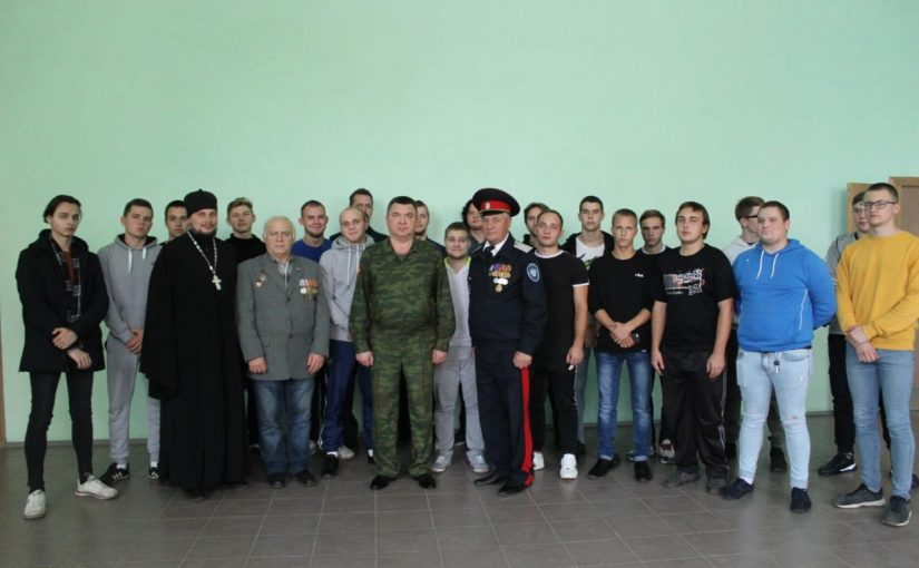 Священнослужитель принял участие в мероприятии «День призывника»