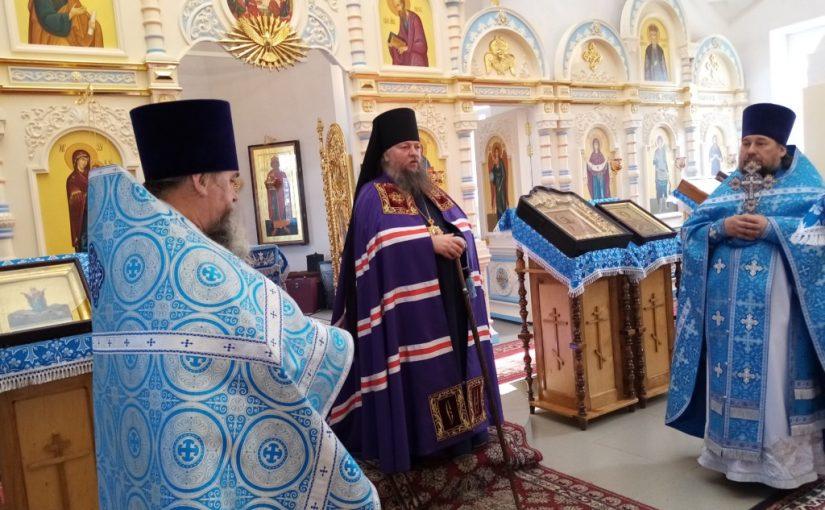 Епископ Митрофан посетил Кузнецкую епархию