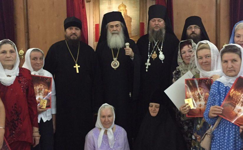 Епископ Митрофан возглавил паломническую поездку в Иерусалим