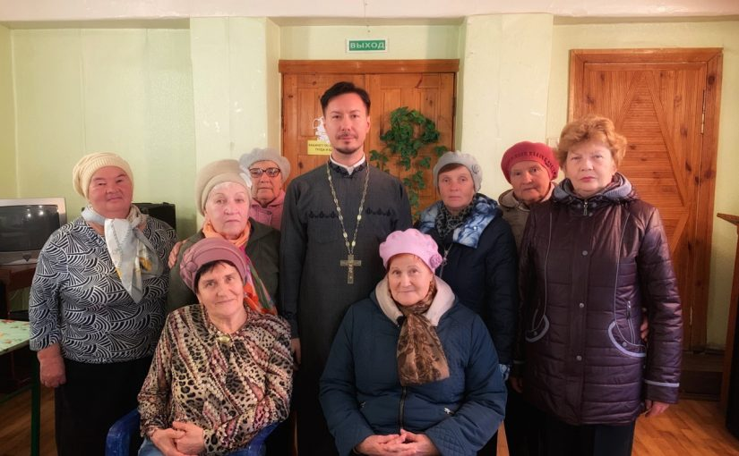 Иеромонах Вениамин (Гришинов ) встретился со слушателями Университета третьего возраста