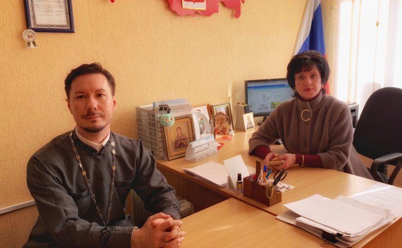 Иеромонах Вениамин (Гришинов) посетил школу – интернат г. Сердобска