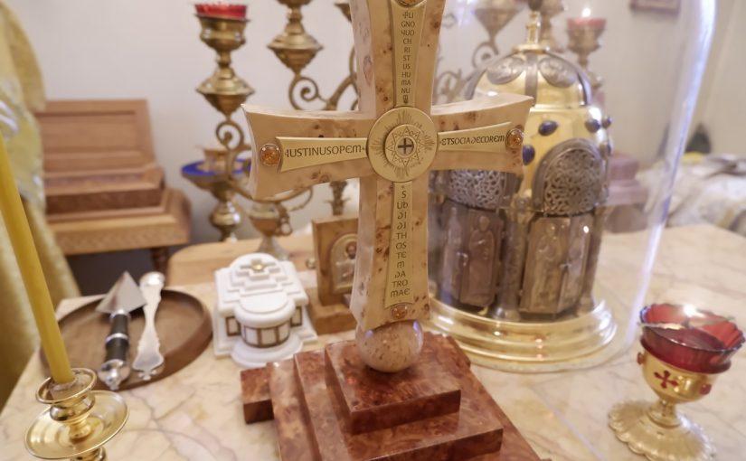Епископ Сердобский Митрофан совершил Божественную литургию в храме Николая Чудотворца села Куракино