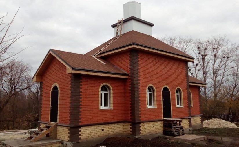 Чин освящения и установки купола на строящийся храм в Наровчатском благочинии