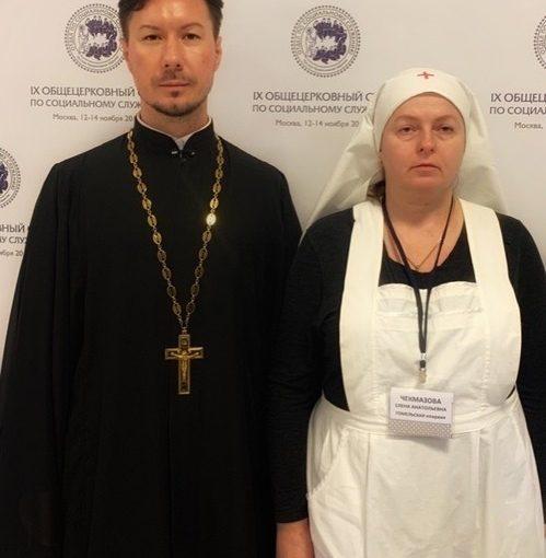 Иеромонах Вениамин (Гришинов) провёл рабочую встречу с представителем Белорусской Православной Церкви