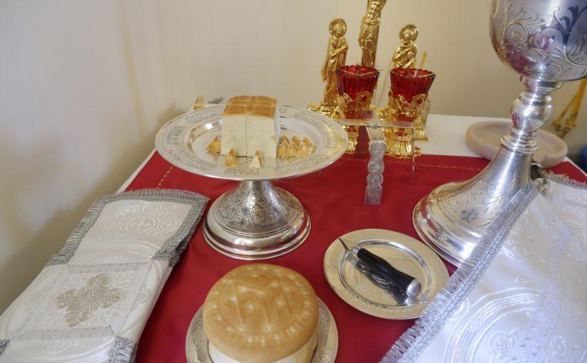 Епископ Митрофан совершил великое освящение Богоявленского храма с. Долгово Земетчинского района