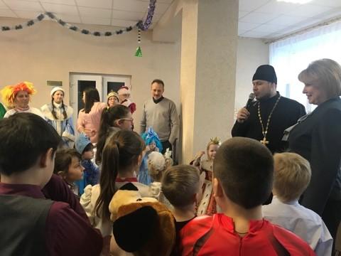 Благотворительная ёлка в Башмаково