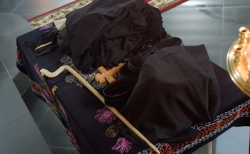 Монашеский постриг в Казанской Алексиево – Сергиевской пустыни п. Сазанье