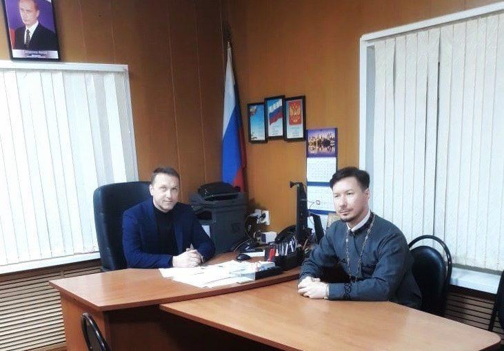 В ОМВД России по Сердобскому району состоялась рабочая встреча с иеромонахом Вениамином (Гришиновым)