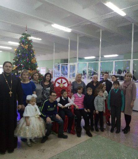 Рождественское мероприятие для детей с ограниченными возможностями здоровья в Башмаково