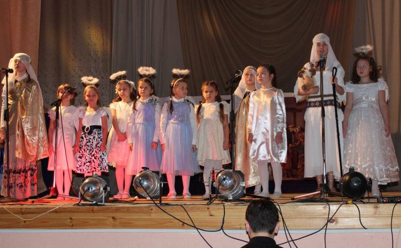 Рождественский концерт в р.п. Колышлей