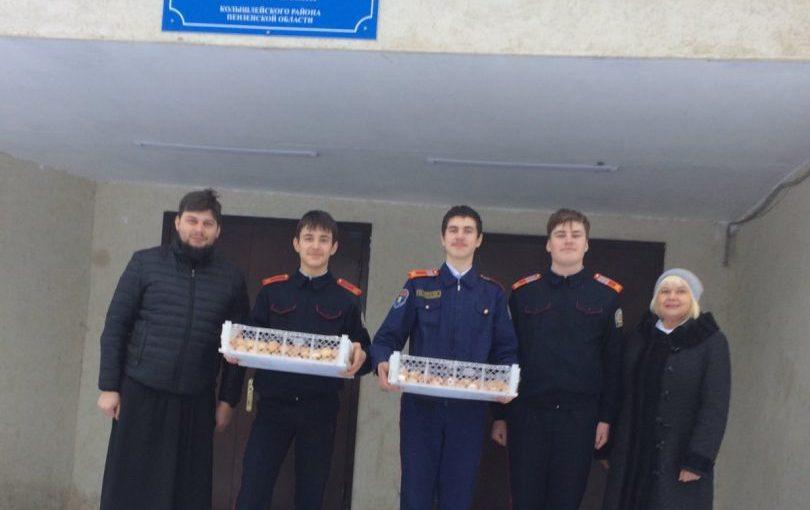 Встреча со священнослужителем в школе п. Родниковский