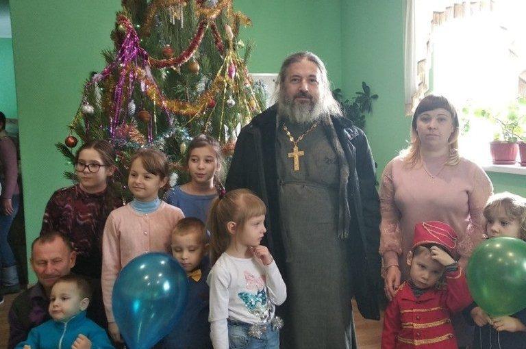 Рождественская ёлка в с. Куракино