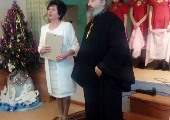 Иерей Иоанн Рынковой посетил Сердобскую школу-интернат