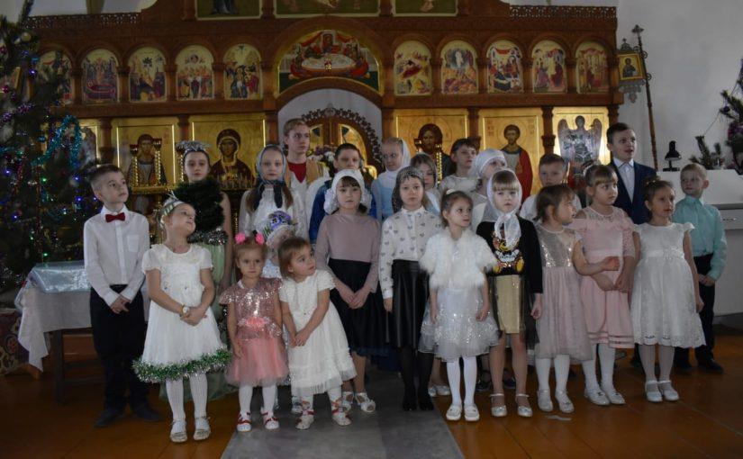 Рождественская ёлка в Михайло — Архангельской церкви р.п. Тамала