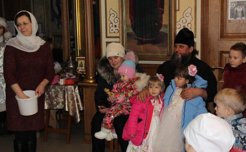 Рождественская ёлка в с. Вертуновка