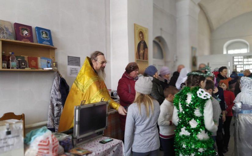 Рождественская ёлка в с. Знаменское Башмаковского района