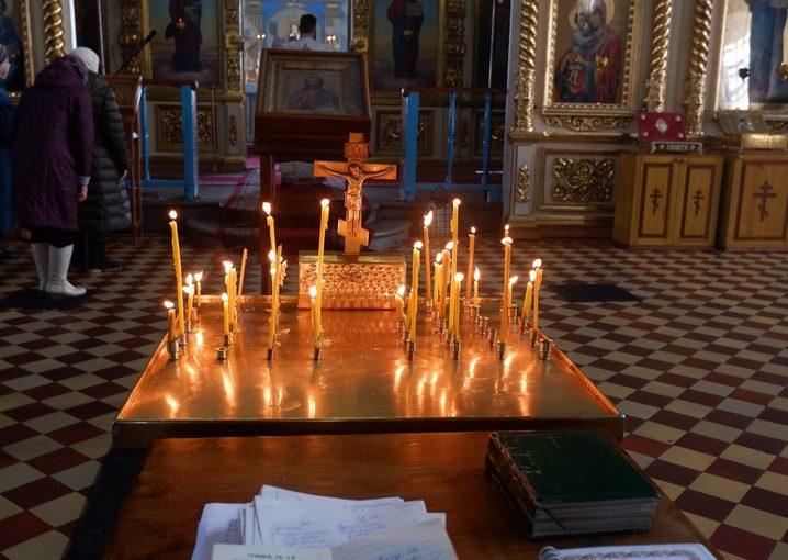Во Вселенскую родительскую субботу епископ Митрофан совершил Литургию в кафедральном соборе г. Сердобска