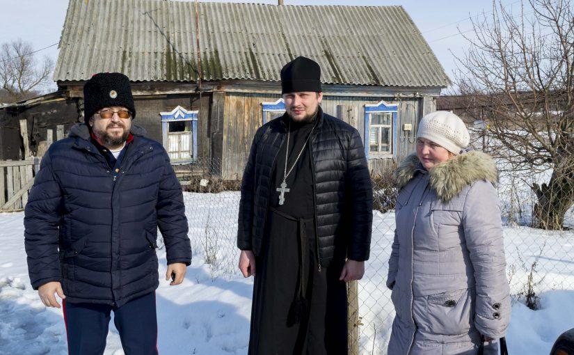 Иерей Дмитрий Пятунин принял участие в социальном мероприятии
