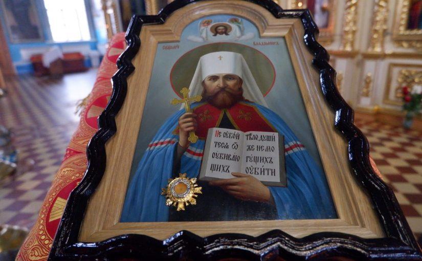 Преосвященнейший Митрофан совершил литургию в кафедральном соборе Сердобска
