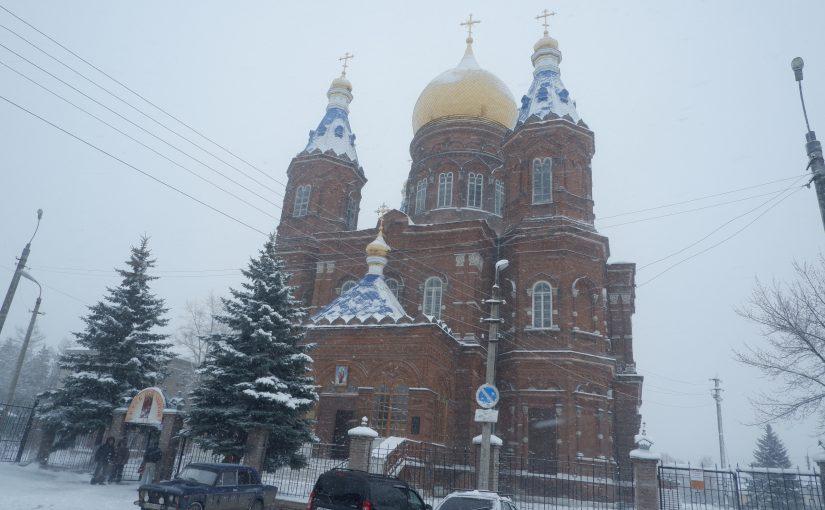 В Крестопоклонную неделю епископ Митрофан совершил Литургию в соборе Архангела Михаила г. Сердобска