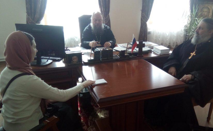 Епископ Митрофан возглавил заседание Епархиальной комиссии канонизации святых