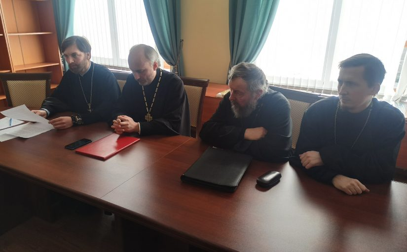 Епископ Митрофан возглавил собрание духовенства Сердобского благочиния
