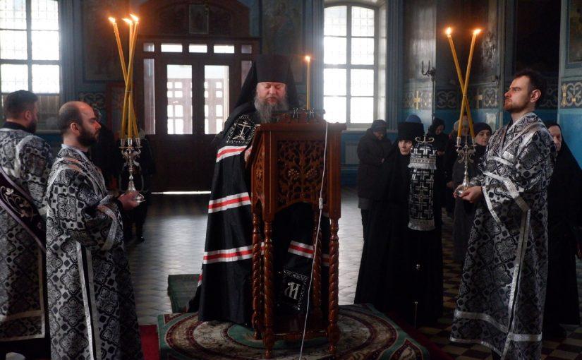 Епископ Митрофан совершил чтение первой части покаянного канона Андрея Критского