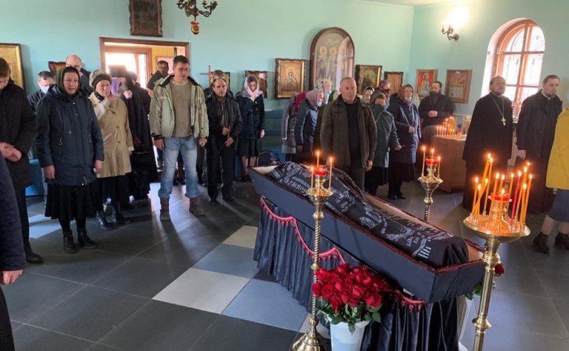 Состоялось отпевание иеросхимонаха Нектария (Кудряшова)
