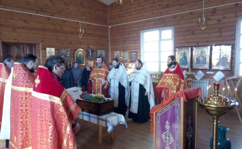 Отпевание иеромонаха Наума (Трошина)