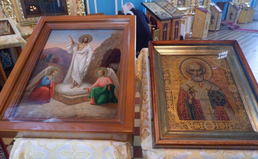 В канун дня памяти святителя Николая Чудотворца епископ Митрофан совершил всенощное бдение в кафедральном соборе г. Сердобска