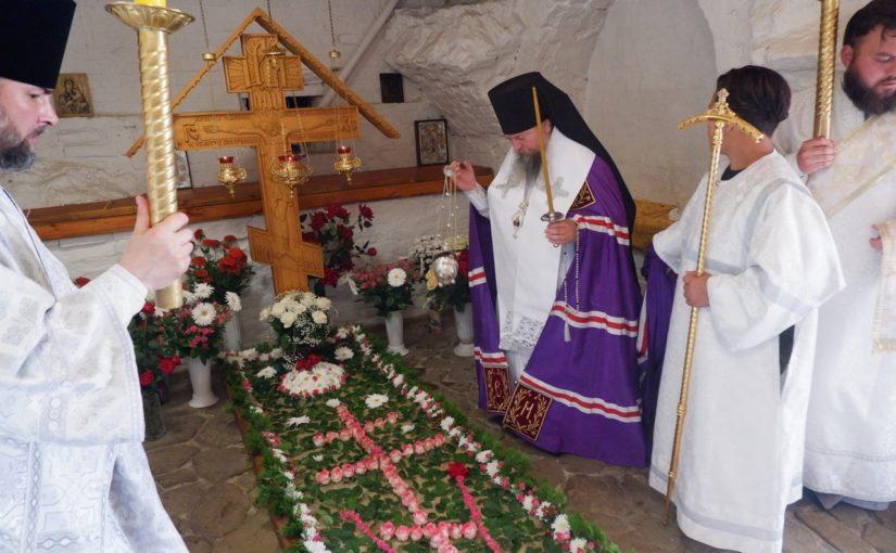 Епископ Митрофан совершил Литургию Свято — Тихвинском Керенском мужском монастыре р.ц. Вадинск