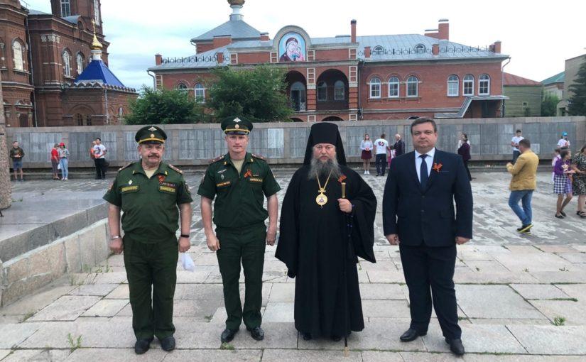 Епископ Митрофан принял участие в акции «Свеча памяти»