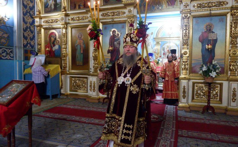 Всенощное бдение в канун дня памяти новомучеников и исповедников Сердобской епархии