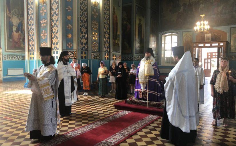 В Михайло — Архангельском соборе состоялся молебен на начало нового учебного года