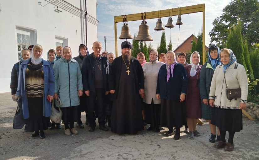 Паломническая поездка прихожан Тихвинского Керенского мужского монастыря