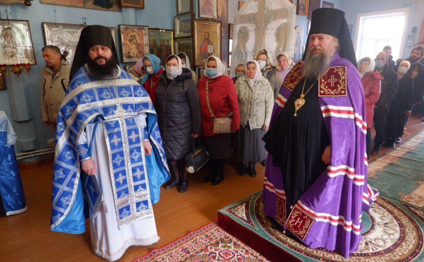 Престольный праздник в храме Рождества Пресвятой Богородицы в с. Трескино
