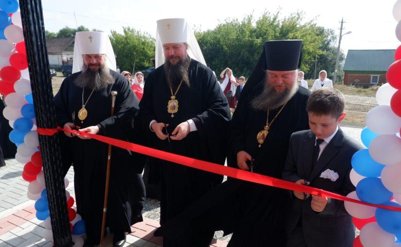 Управляющий делами Московской Патриархии митрополит Воскресенский Дионисий посетил Сердобск