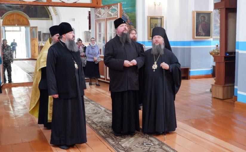 Управляющий делами Московской Патриархии митрополит Воскресенский Дионисий посетил Вознесенский собор Спасска