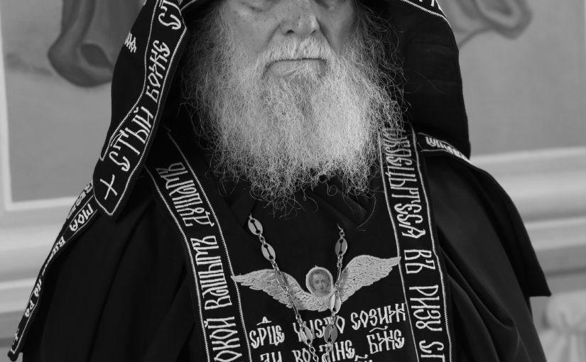 Отошел ко Господу насельник Свято-Тихвинского Керенского монастыря схиигумен Пимен (Долженков)