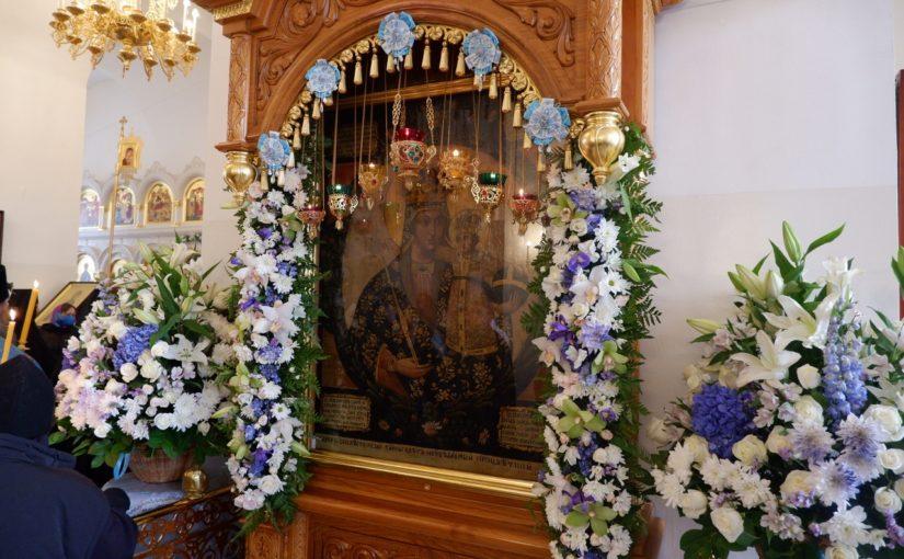 Литургия в Троице-Скановом женском монастыре в день памяти Трубчевской иконы Божией матери