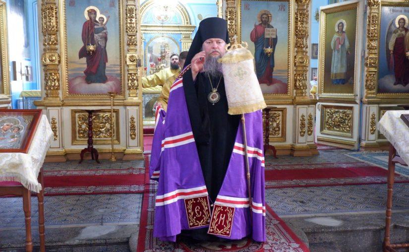Епископ Митрофан совершил Всенощное бдение в кафедральном соборе Сердобска