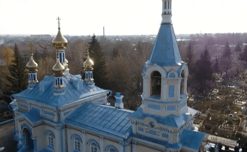 Торжества по случаю 130-летия со дня основания храма Казанской иконы Божией Матери прошли в Кузнецке