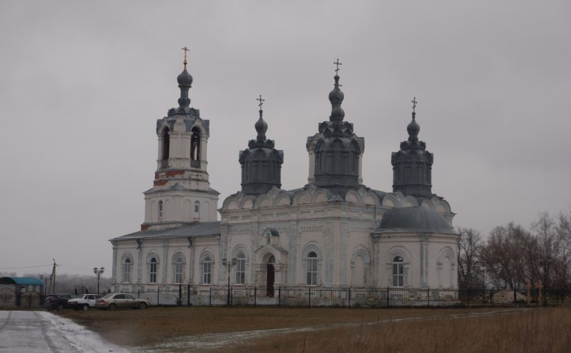 Епископ Митрофан совершил Литургию в Михайло – Архангельском храме  рп. Башмаково