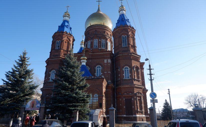 В Сердобске прошли торжества по случаю престольного праздника Михайло-Архангельского кафедрального собора