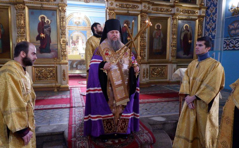 Благодарственный молебен в день годовщины интронизации Святейшего Патриарха Кирилла