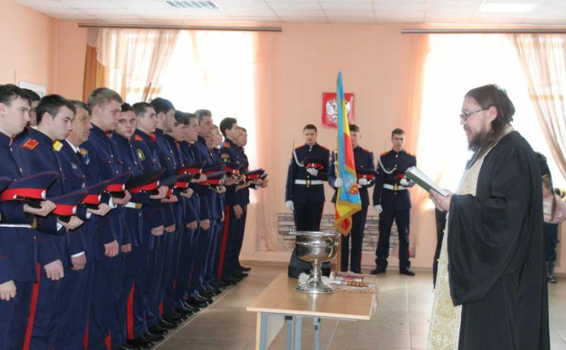 Клирик епархии принял участие в кадетском празднике в рп. Пачелма